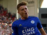 Brendan Rodgers believes Harvey Barnes will be 'knocking on the door' for an England call up