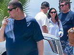 James Packer and his ex-wife Erica make their way to his $200M luxury yacht in Cabo