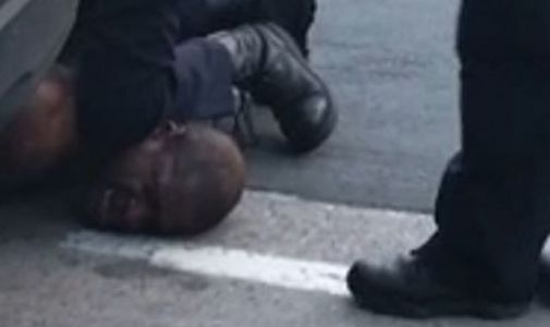 'Please, I can't breathe': Video shows US police officer kneeling on neck of man who later died