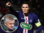 Manchester United in talks with free agent Edinson Cavani after the expiration of his PSG contract