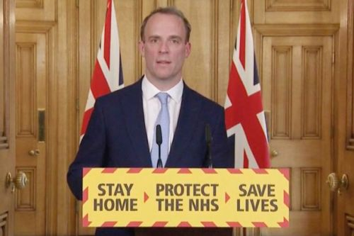 Dominic Raab to 'deputise' for Boris Johnson after PM moved to intensive care