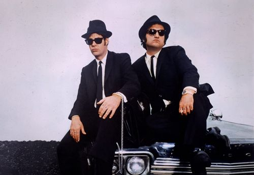 John Belushi once went rogue from set of The Blues Brothers, ended up on a stranger's sofa