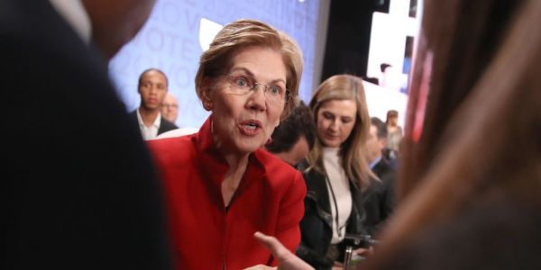 Elizabeth Warren says she will go around Congress to cancel $1.6 trillion of US student debt on 'day one' as president