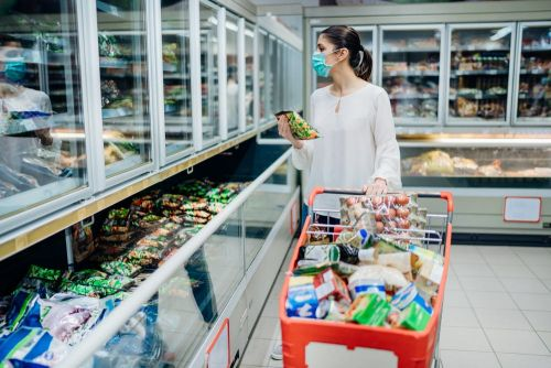 'Pandemic Pallets' filled with stockpiled items are reportedly gaining popularity at grocery stores ahead of the winter months