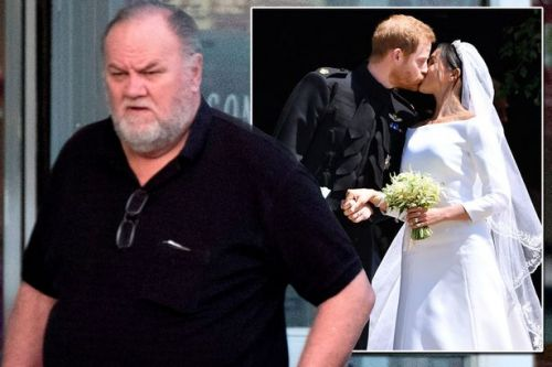 Meghan Markle's father Thomas seen for first time since heart surgery forced him to miss royal wedding