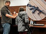 11-year-old brings loaded AR-15 assault rifle to hearing in Idaho in support of proposed gun law