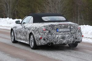 New 2021 BMW 4 Series Convertible spied again
