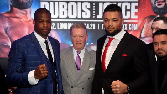 Daniel Dubois vs Joe Joyce live stream: how to watch the fight from anywhere tonight