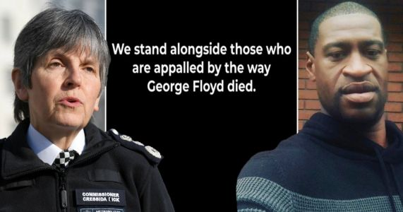 UK police say they are 'appalled' by George Floyd death and call for justice