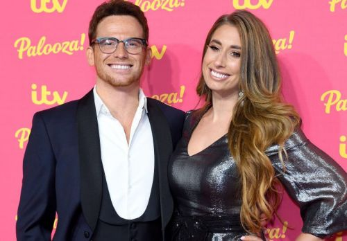 Stacey Solomon and Joe Swash had to leave their house to set up for Celebrity Gogglebox