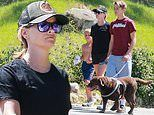 Reese Witherspoon dons tiny shorts as she enjoys LA hike with sons ahead of Big Little Lies finale