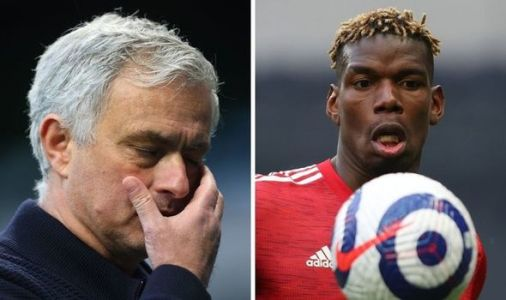 Tottenham boss Jose Mourinho vents fury at Paul Pogba not being sent off in Man Utd loss