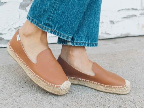 I've bought the same pair of Soludos espadrilles 5 times - they're normally $99, but they're on final sale for $40 now