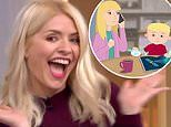 Holly Willoughby makes her acting debut as she unveils Christmas advert