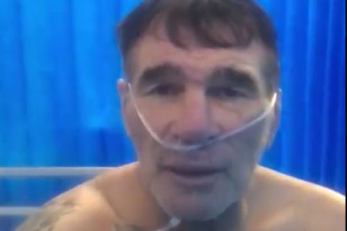 Paddy Doherty warned by medics he was 'hours from death' after catching Covid-19
