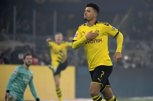 Jadon Sancho's Manchester United switch could hinge on Man City's European ban - Mirror