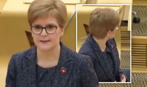 Nicola Sturgeon rudely interrupted in FMQs as mobile phone goes off mid-session - VIDEO