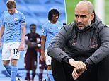 Pep Guardiola denies suggestions that talks over a new Manchester City deal have started