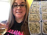Woman who lost job during pandemic has cooked over 1,275 pans of lasagna for people in need