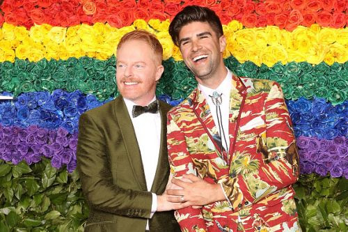 Modern Family's Jesse Tyler Ferguson welcomes first child, Beckett Mercer, with husband Justin Mikita