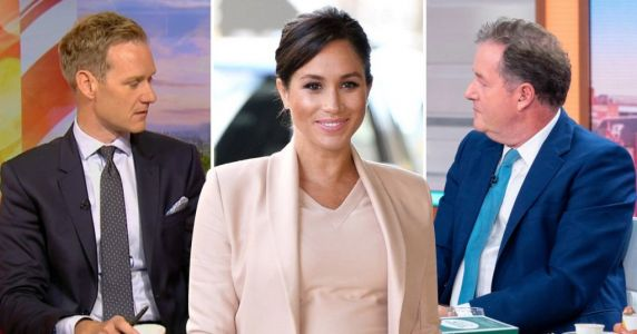 Piers Morgan blasts 'snivelling sycophant' Dan Walker as rivals row over Meghan Markle
