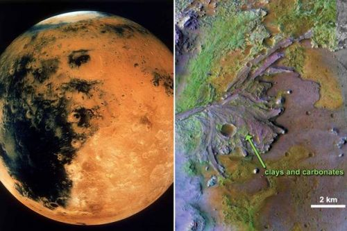Mars was once warm enough for rain increasing odds it supported alien life