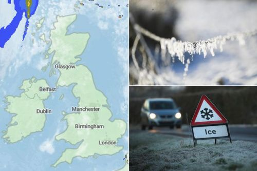 UK weather: 1,000-mile wide cold air plume to bring 10 days of fog and -7C freeze