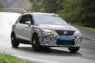 2022 Seat Arona spied testing for the first time
