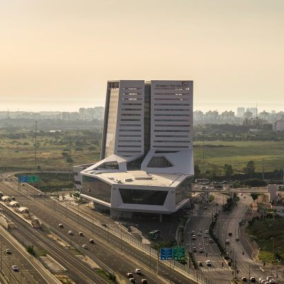 """""""There's something very inspiring happening again in Israel,"""" says architect Asaf Mann"""
