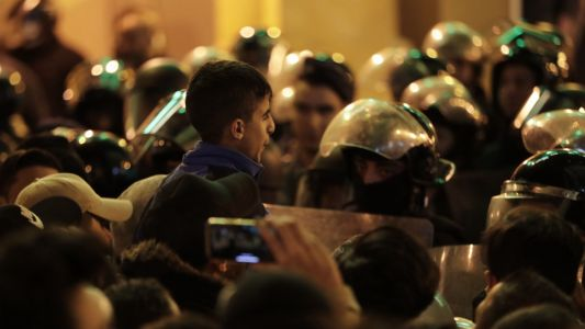 Second night of violent protests in Beirut