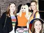 Chelsea Clinton joins Nicky Hilton for a fashionable dinner hosted by designer Alice + Olivia