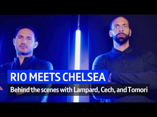 : Rio Ferdinand goes behind the scenes at Lampard's Chelsea training session