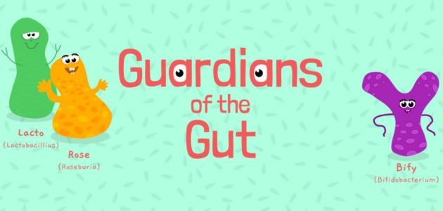 New teaching resource launched to explain the microbiome as the Guardians of the Gut go online