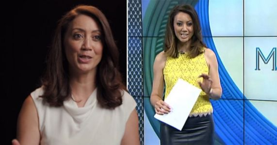 Newsreader reveals how she had miscarriage live on air
