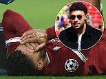 Liverpool star Alex Oxlade-Chamberlain out for year with knee ligament injury