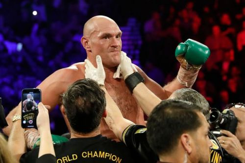 Wilder vs Fury result: Mike Tyson celebrates jubilantly after heavyweight rematch ends in stoppage