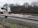 Horrific lorry crash closes M6 both ways sparking half-term travel misery for motorists