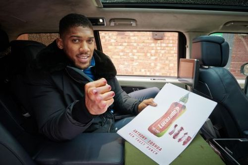 Anthony Joshua's money-spinning sponsorship deals revealed