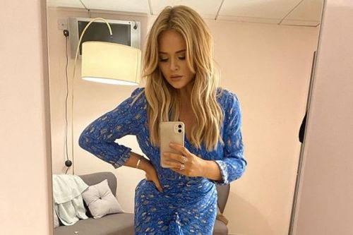 Emily Atack a 'naughty mermaid' as she shows off stunning lockdown weight loss