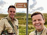 Ant and Dec make a 'quick trip' to Wales in search of the new I'm A Celeb castle