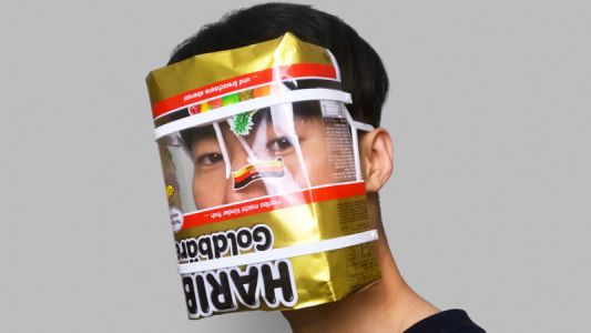 This DIY Face Shield Gives You an Excuse to Stress-Eat Haribo