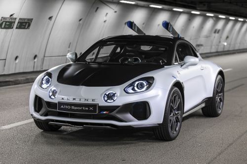 Alpine unveils off-road tailored A110 SportsX