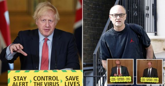 Boris stops chief scientist and medical officer answering Cummings question