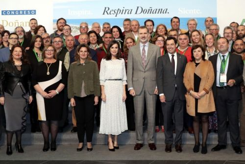 King and Queen of Spain stay busy on Friday with four events