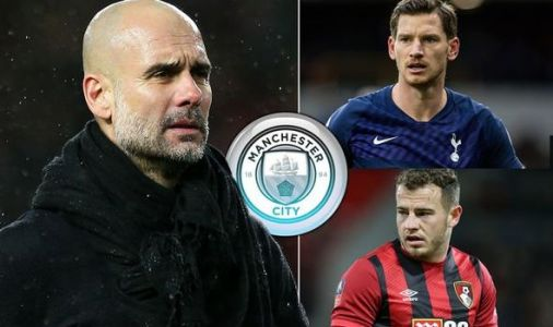 Man City boss Guardiola could sign four free agents to save millions in transfer window
