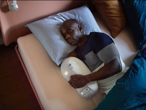 The company behind this $599 robot shaped like a bean claims it solves sleep problems if you cuddle with it - here's how it works