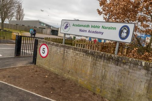 Scots school' treating pupils like trash' after asking them to sit on bin bags
