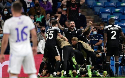 Sheriff Tiraspol pull off biggest shock in Champions League history with late victory at Real Madrid