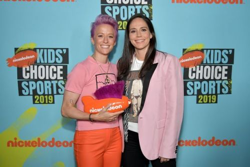 US footballer Megan Rapinoe engaged to girlfriend and basketball player Sue Bird