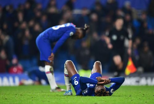 Scan for Chelsea striker but club remain optimistic about injury